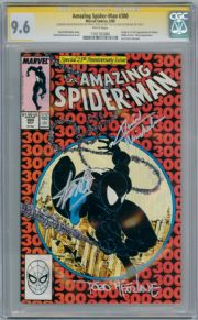 Amazing Spider-man #300 CGC 9.6 Signature Series Signed x 3 Stan Lee Venom Marvel comic book